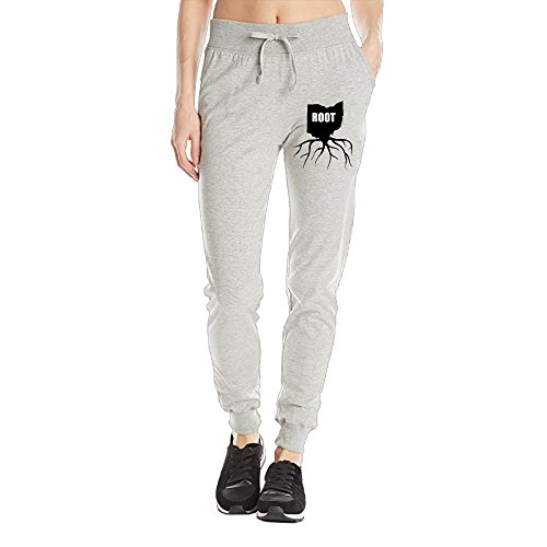 - HOTCTDS Home Roots State Ohio OH Womens Sweatpants Drawstring Training Sports Yoga Jogger Long Pants With Pockets