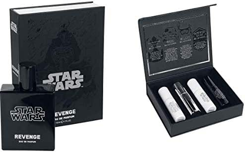 Star Wars Eau de Parfum Revenge 50ml and Travel Kit with 4 X 10ml Spray Perfumes
