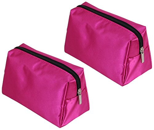 (Caboodles Small Cosmetic Bag, 2 Pink Makeup Bags)