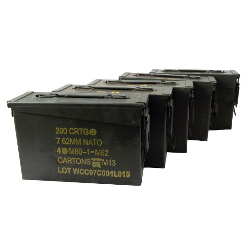 30 Cal Ammo Can Grade 1 (5 Pack) by U.S. Military
