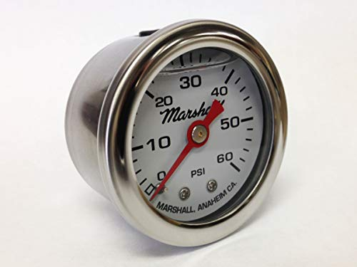 Marshall Instruments CW00060 Oil Pressure Gauge