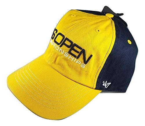 BD INNOVATION ELECTRONICS Tennis Hat Yellow & Blue Celebrating The US Open