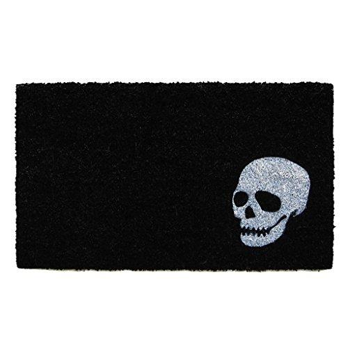 Calloway Mills 153601729 Home & More Skull Doormat, 17