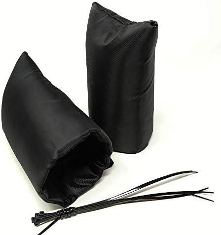 [해외]Jenrish 겨울 냉동 보호 양말을 위한 2팩 야외 수도꼭지 커버 업그레이드 된 내부 및 외부 방수 원단 단일 사이즈 / Jenrish 2-Pack Outdoor Faucet Cover for Winter Freeze Protection Socks Upgraded Inner and Outer Waterproof Fabric One Size...