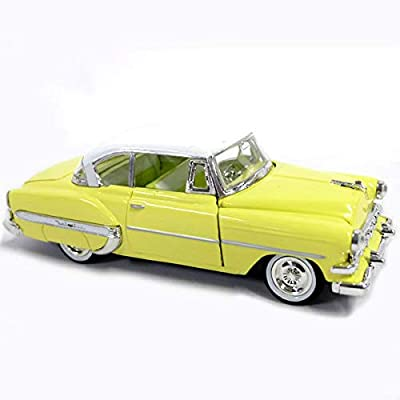 1954 Chevrolet Bel Air Yellow 1/32 Diecast Car Model: Toys & Games [5Bkhe0504632]