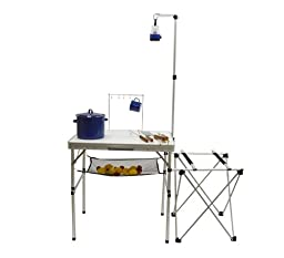 Multi-Use Camping Kitchen Utility Table