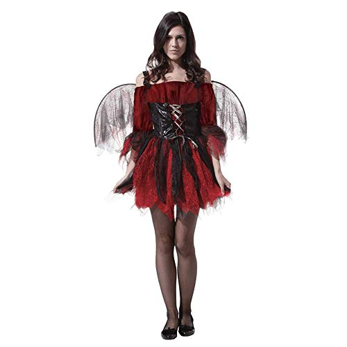 CBM Halloween Costumes for Women Vampire Girl Adult Size Dress 5'1