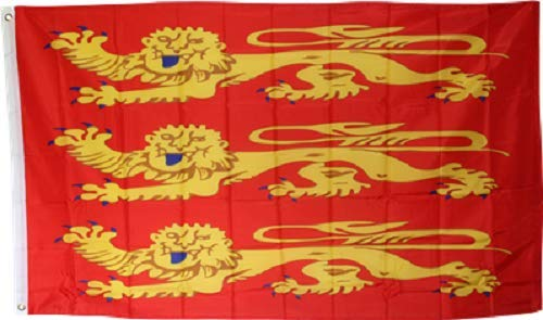 ALBATROS 3 ft x 5 ft King Richard of England Banner Lion Heart Royalty Flag for Home and Parades, Official Party, All Weather Indoors Outdoors (Surfers Parade)