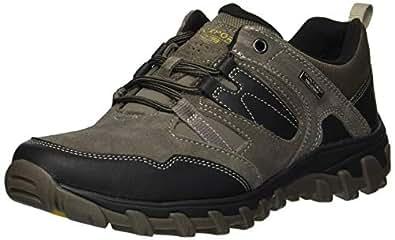 ROCKPORT Men's Cold Spring Plus Low Tie Shoe, Breen, 6.5 W US