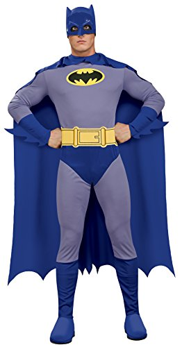 Rubie's Men's Batman The Brave and The Bold Adult Batman Costume, Blue/Grey, Large ()