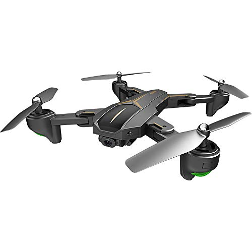 MOZATE VISUO XS812 GPS 5G WiFi FPV 5MP 1080P Wide Angle HD Camera Foldable RC Quadcopter Drone + Two Battery (Black, B) by MOZATE (Image #1)