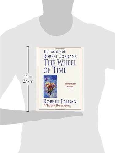 The world of robert jordans the wheel of time robert jordan the world of robert jordans the wheel of time robert jordan teresa patterson 9780312869366 books amazon gumiabroncs Image collections