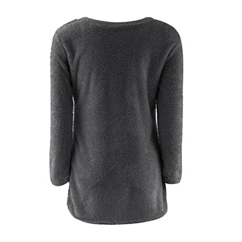 3c4e13f02730b5 Blouses, Doinshop Womens Casual T-Shirts Solid Long Sleeve Jumper Sweaters  Tops durable service