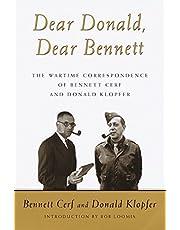 Dear Donald, Dear Bennett: The Wartime Correspondence of Bennett Cerf and Donald Klopfer
