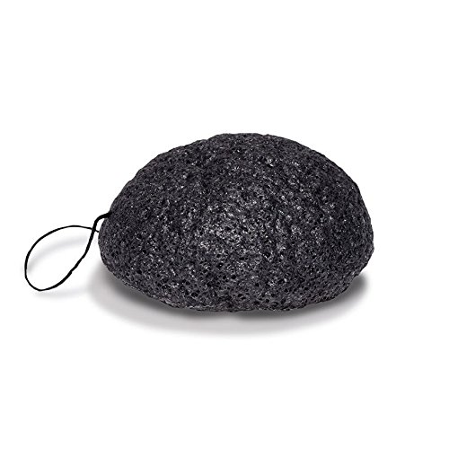 Konjac Cleansing Sponge Bamboo Charcoal product image
