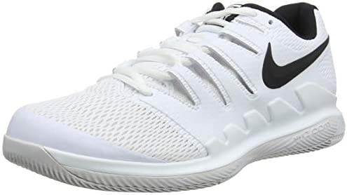 Nike Men s Zoom Vapor X Tennis Shoes 10 D US, White Black Vast Grey Summit White
