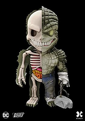 DC Comics XXRAY Figure Wave 4 Killer Croc 10 cm Mighty Jaxx Mini figures