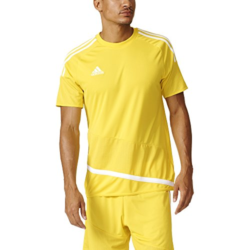 Adidas Regista 16 Mens Soccer Jersey M Yellow/White