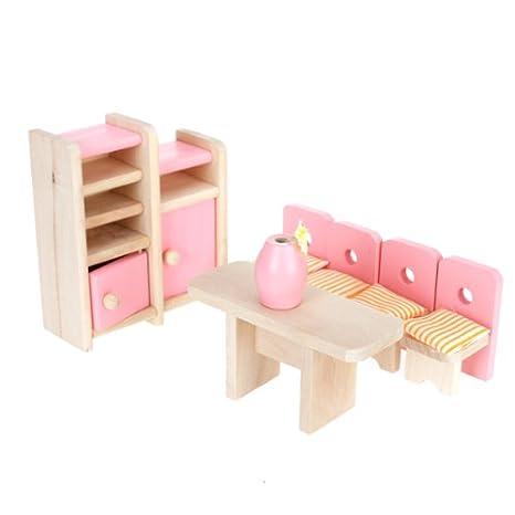 Coperta Rancom Lampada Mobili per camera da letto delle bambole Set Letto Armadio Tavolo