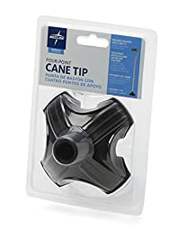 Medline Four Point Stabilizing Cane Tip