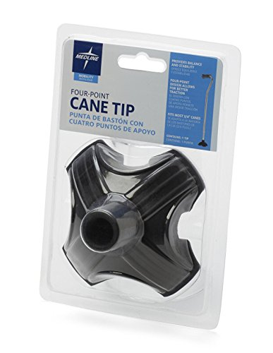 Medline Four Point Stabilizing Cane