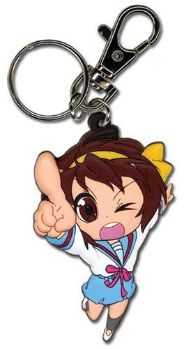 (Great Eastern Entertainment Haruhi Chan Haruhi-Chan PVC Keychain)