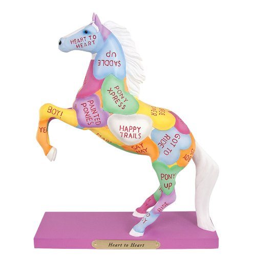 Trail of Painted Ponies Heart to Heart Candy Hearts Valen...