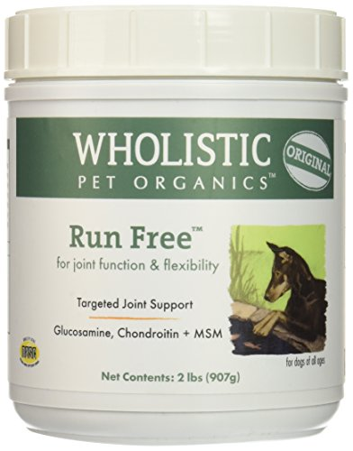Wholistic Pet Organics Run Free Supplement, 2 lb by Wholistic Pet Organics