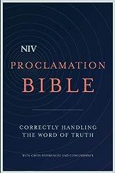 NIV Proclamation Bible: Correctly Handling the Word of Truth (Bible Niv)