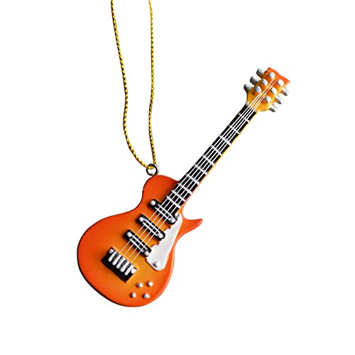 HOME GIFTS Christmas Hanging Ornaments Music Guitar Ornaments Christmas Decoration Music Party -