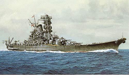 Scale 1:250 Battleship 3D Paper Models Assembling Ship Model Toy Yamato  Model - Model Yamato