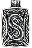 Trove of Valhalla Urnes Snakes for Skill and Ingenuity Pendant Charm Amulet Talisman