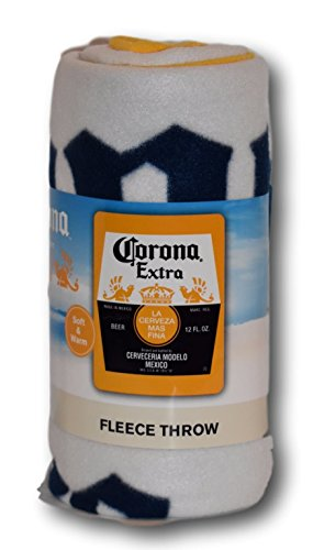 Corona Extra Fleece Throw