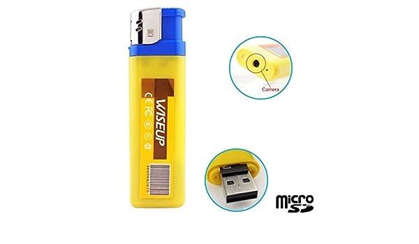Mechero cámara espía Mini con Micro Integrado - sin tarjeta Micro SD: Amazon.es: Bricolaje y herramientas