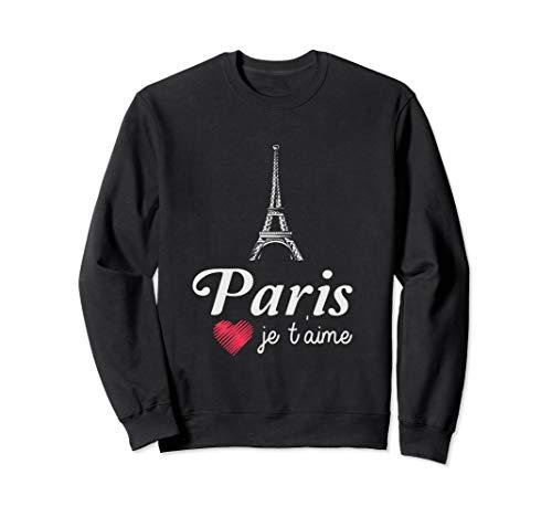 I Love Paris Sweatshirt - Paris Je T'Aime France Europe