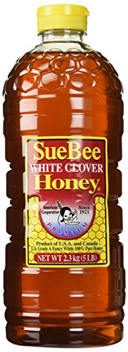 Sue Bee Clover Honey, 5 Pound Container by Sue Bee