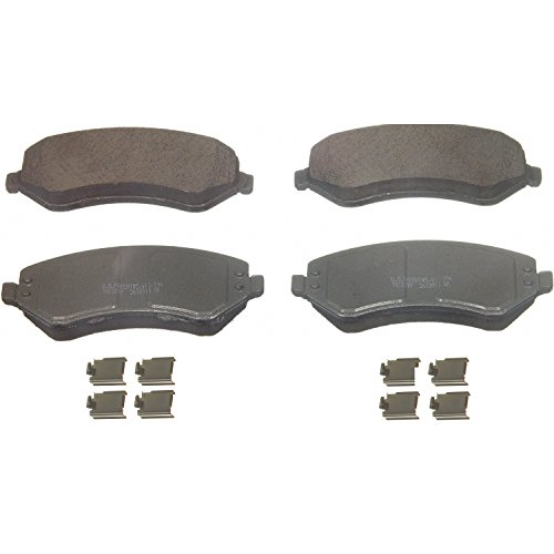 Wagner ThermoQuiet QC856A Ceramic Disc Pad Set With Installation Hardware, ()