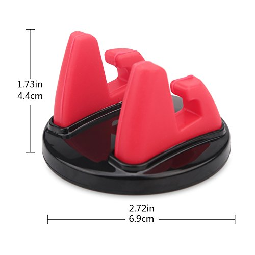 Premium Anti-Slip Cell Phone Mount for Car//Home//Office Phone Holder with Clip for Cable ONTURA Car Phone Holder Multifunction and Multipurpose Design Usable with All Phone and Tablet Designs 4351521033