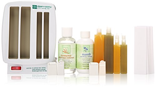 Clean + Easy Professional Waxing Spa Petite Kit, 11 Count Easy Waxing Spa
