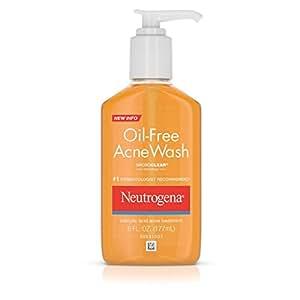 Neutrogena Oil-Free Acne Face Wash With Salicylic Acid, 6 Oz.