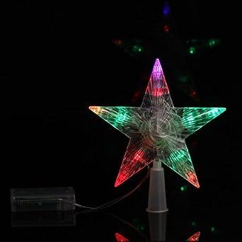 Weihnachtsstern Für Tannenbaum.A4e Stimmungsvoller Led Deko Weihnachtsstern Für Den Christbaum