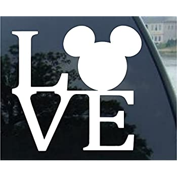 amazoncom crawford graphix mickey mouse ears love logo
