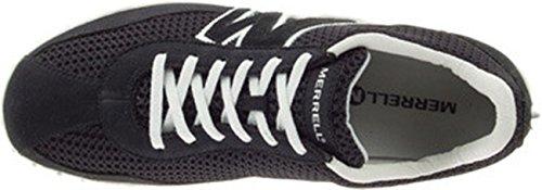 Sprint Uomo Suede mesh Merrell Blast Sneaker ltr Black HwfZqanq