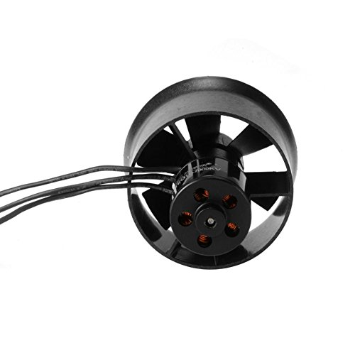 35mm Ducted Fan EDF 6 Blade QF1611 7000KV 14000KV Brushless Motor Accessory for RC Jet Model 7000KV