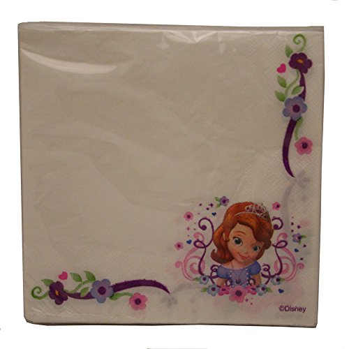 Disney Sofia the First Lunch Napkins -