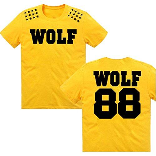 Moon Soul EXO KPOP Stars T Shirt Wolf 88 Hot Sale T-shirt Top Tee