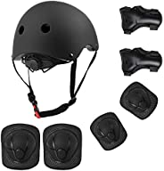 OVOOR Kids Adjustable Helmet Pad Set - Suitable for Ages 3-10yrs Girls Boys Toddler,Sport Protective Gear Set