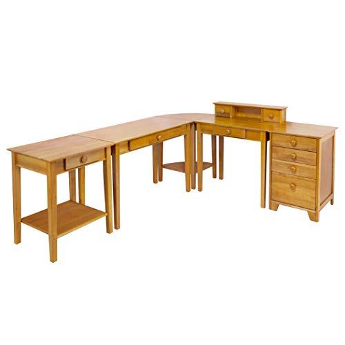 Wood & Style Premium Décor Studio 5pc Home Office Set ()