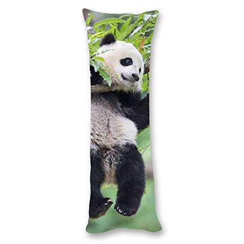 AILOVYO Panda Silky Soft Satin Pregnancy Body Pillow Cover Pillowcase, 20