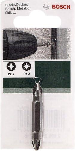 PZ2 Bosch 2609255957 Embout de tournevis double PZ2